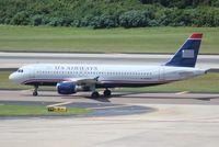 N119US @ TPA - US Airways A320