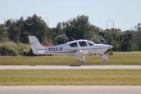 N124JF @ ORL - Cirrus SR22 - by Florida Metal
