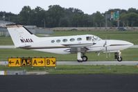 N141A @ ORL - Cessna 421B - by Florida Metal