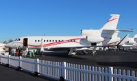 N163FJ @ ORL - Falcon 7X at NBAA