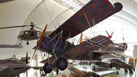 8417-18 @ RAFM - Fokker D.VII 8417/18 built in 1918 and restored on 1964, now resides at RAF Hendon. - by Alana Cowell