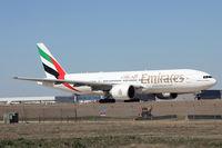 A6-EWF @ DFW - Emirates 777at DFW Airport - by Zane Adams