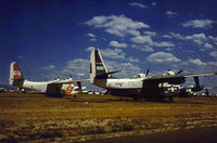 131892 @ DMA - HU-16C Albatross of Naval Air Station Key West in storage at what was then known as MASDC - Military Aircraft Storage & Disposition Centre - at Davis-Monthan AFB. - by Peter Nicholson