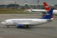 LV-AZU @ SBGR - AR B735 is former Air France F-GJNJ. - by FerryPNL