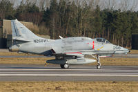 N268WL @ ETNT - BAe Douglas A-4N Skyhawk N268WL is based at Wittmund AB - by Nicpix Aviation Press  Erik op den Dries