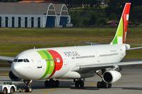 CS-TOB @ SBGR - TAP A343 towed to gate - by FerryPNL