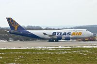 N459MC @ EGNX - Atlas Air Boeing 747-446, c/n: 26344 at East Midlands