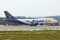 N459MC @ EGNX - Atlas Air Boeing 747-446, c/n: 26344 at East Midlands