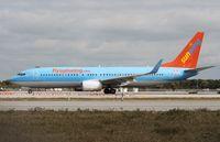 C-GDZE @ KFLL - Boeing 737-800 - by Mark Pasqualino