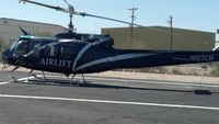 N107CH @ KTUS - N107CH in between flights, at Southwest Helicopters, Tucson AZ