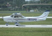 N222PX @ ORL - Cessna 182P