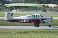 N223DW @ ORL - Beech P35 Bonanza