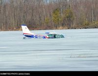 C-GAEI - Fell through ice March 31, 2013 - by James Evans