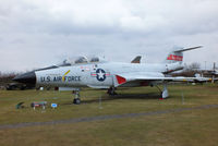 56-0312 @ EGBE - McDonnell F-101F Voodoo preserved at the Midland Air Museum - by Chris Hall