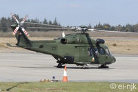 277 @ EIWF - Photographed the Irish Air Corps AW139 after it had just landed on the apron at Waterford. - by Noel Kearney