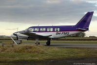 9H-FMG @ EGPT - An unusual visitor to Perth-Scone. - by Carl Byrne (Mervbhx)