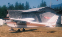 C-FMHZ @ CYPB - Out take of airfield shot at Christie (Somass) Field, the old Port Alberni B.C, grass airstrip. - by Nigel Hannaford