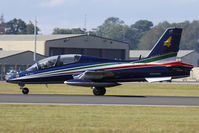 MM54534 @ EGVA - Coded 4, Frecce Tricolori. RIAT 2011. - by Howard J Curtis