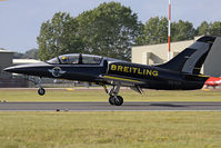 ES-YLP @ EGVA - Breitling Jet Team, coded 7. RIAT 2011. - by Howard J Curtis