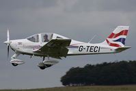 G-TECI @ EGHA - Privately owned. - by Howard J Curtis