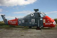 XS885 @ EGDO - Coded 512-DD. At the Fire School, Predannack. - by Howard J Curtis