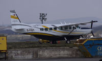 D-FIDT @ EGFF - Parked on the cambrian Apron, departed at 1330 to EDDK. Thanks to S.W.A.G. - by Derek Flewin