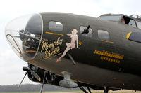 N3709G @ JVW - The movie Memphis Belle B-17 at Williams airport, Raymond MS