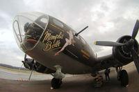 N3703G @ JVW - The movie Memphis Belle B-17 at Williams airport, Raymond MS