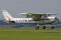G-CCTW @ EGHA - Privately owned. A resident here. - by Howard J Curtis
