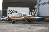 G-ARRM @ EGKA - The prototype Beagle 206, now preserved at Farnborough. [Not a Basset.] - by Howard J Curtis