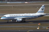 9K-GEA @ EDDL - Government of Kuwait, Airbus A319-115A CJ, CN: 3957 - by Air-Micha
