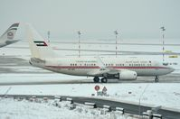 A6-HRS @ EDDL - Dubai Air Wing BBJ in the winter of DUS - by FerryPNL