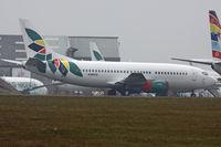 N280CS @ EGHL - Basic Air Nigeria colours. - by Howard J Curtis