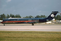 N803ML @ KMIA - Aeromexica MD87 - by Andy Graf - VAP