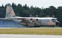 502 @ EGHH - Usual spectacular departure of an Omani C130 - by John Coates
