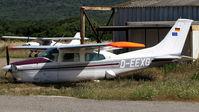 D-EEXG @ LFKF - Hard landing - by BTT