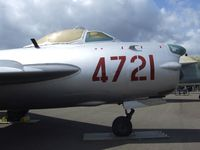 4721 - Mikoyan i Gurevich MiG-17PF (LIM-6MR) FRESCO-E at the Aerospace Museum of California, Sacramento CA - by Ingo Warnecke
