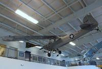 N53792 - Taylorcraft DCO-65 (L-2 'Grashopper') at the Aerospace Museum of California, Sacramento CA