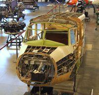 N52390 - Cessna T-50 Bobcat, fuselage being restored at the Aerospace Museum of California, Sacramento CA