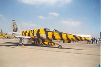 134 @ EGVA - Lovely tiger stripes! - by Howard J Curtis