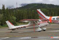 N154JB - On the ramp in front of Denali Air, Denali Park, Alaska. - by Murray Lundberg