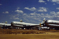 52-2782 @ DMA - HC-97G Stratofreighter of 305th ARRS in storage at what was then known as the Military Aircraft Storage & Disposition Centre - MASDC - in May 1973. - by Peter Nicholson