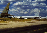 57-0095 @ DMA - B-52E Stratofortress of 96th Strategic Wing in storage at what was then known as the Military Aircraft Storage & Disposition Centre - MASDC - in May 1973. - by Peter Nicholson