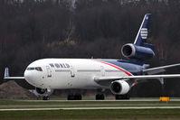 N272WA @ EPKK - World Airways