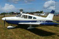 OY-ECC @ EKVJ - Piper PA-28-235 Cherokee [28-10435] Stauning~OY 14/06/2008