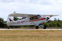 OY-RPY @ EKVJ - Piper PA-18-150 Super Cub [18-8092] Stauning~OY 14/06/2008