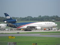 N138WA @ KBWI - World DC10 - by Airtrainbus