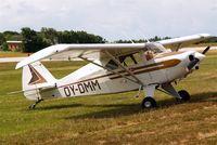 OY-DMM @ EKVJ - Piper PA-22-150 Tri-Pacer [22-5842] Stauning~OY 14/06/2008