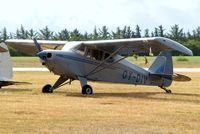 OY-DIV @ EKVJ - Piper PA-22-150 Tri-Pacer [22-6639] Stauning~OY 14/06/2008