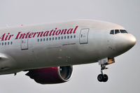 N918AX @ EPKK - Omni Air International